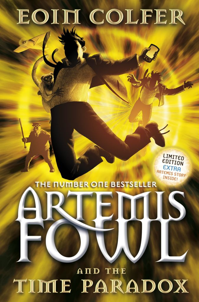 Artemis Fowl And The Time Paradox (BK 6)